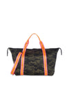 Haute Shore - Trip Weekender Bag (Morgan, Green Camo w/Orange & Pink Straps) alt view 5