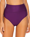 Sunsets Plum Hannah High Waist Bottom