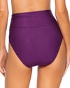 Sunsets Plum Hannah High Waist Bottom alt view 1