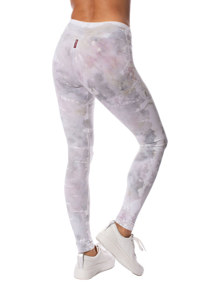 Hard Tail Forever - Flat Waist Ankle Legging (W-452, Tie-Dye STW3) alt view 1
