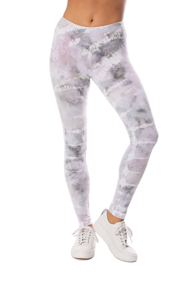 Hard Tail Forever - Flat Waist Ankle Legging (W-452, Tie-Dye STW3) alt view 5