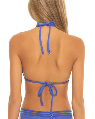 Isabella Rose Blue Queensland Triangle Top alt view 1