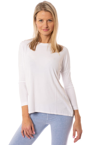 Hard Tail Forever - Slouchy  T (ROX-03, White)