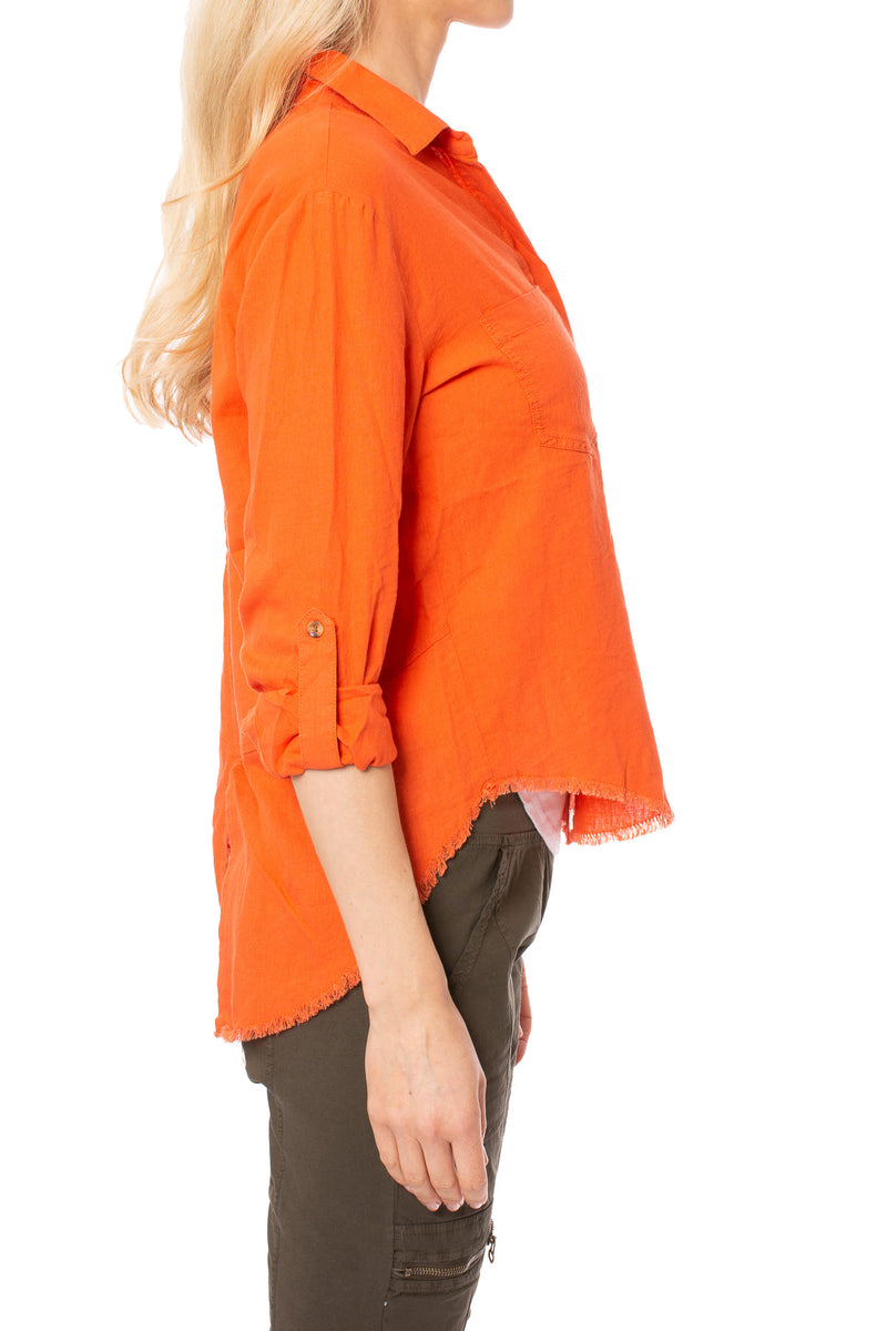 Velvet Heart - Riley  34 Shirt (2UI-2931F, Orange)