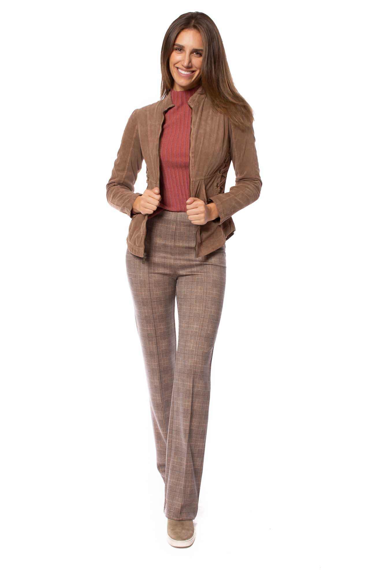 Wearables - Corduroy Larisa Jacket w/Tie Side Grommets (13310w, Silt)