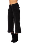 Wearables - Cord Re Tri Gaucho Pants (2389w, Black)