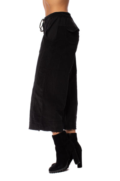 Wearables - Cord Re Tri Gaucho Pants (2389w, Black) alt view 1