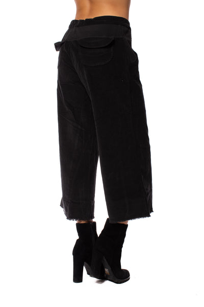 Wearables - Cord Re Tri Gaucho Pants (2389w, Black) alt view 2