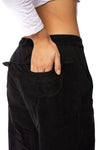 Wearables - Cord Re Tri Gaucho Pants (2389w, Black) alt view 3