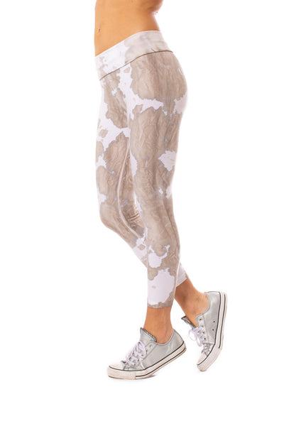 Hard Tail Forever - Roll Down Layered Legging (588, Tie-Dye VCL1)
