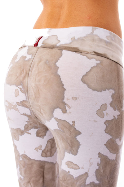 Hard Tail Forever - Roll Down Layered Legging (588, Tie-Dye VCL1) alt view 3