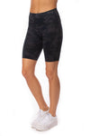 Spanx - Look At Me Now Bike Shorts (50180R, Black Camo)