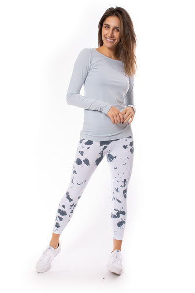 Hard Tail Forever - Rolldown Layered Legging (588, Tie-Dye VCL2)