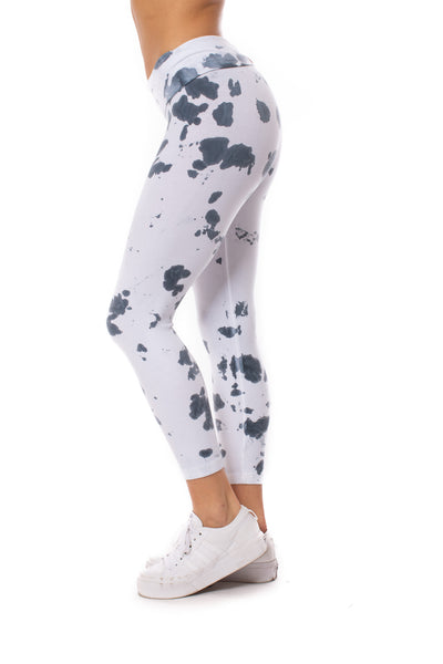 Hard Tail Forever - Rolldown Layered Legging (588, Tie-Dye VCL2) alt view 2