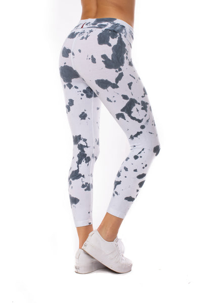 Hard Tail Forever - Rolldown Layered Legging (588, Tie-Dye VCL2) alt view 3