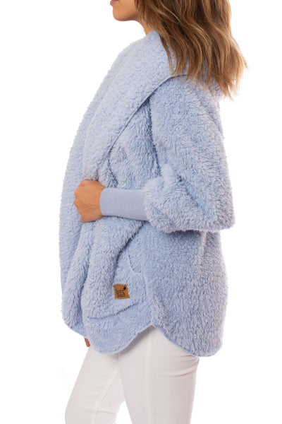 Nordic Beach - Cashmere Blue Body Wrap (WRAP, Cashmere Blue) alt view 2