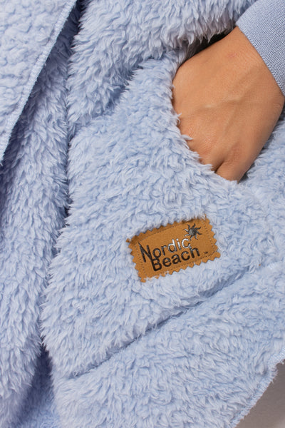 Nordic Beach - Cashmere Blue Body Wrap (WRAP, Cashmere Blue) alt view 4