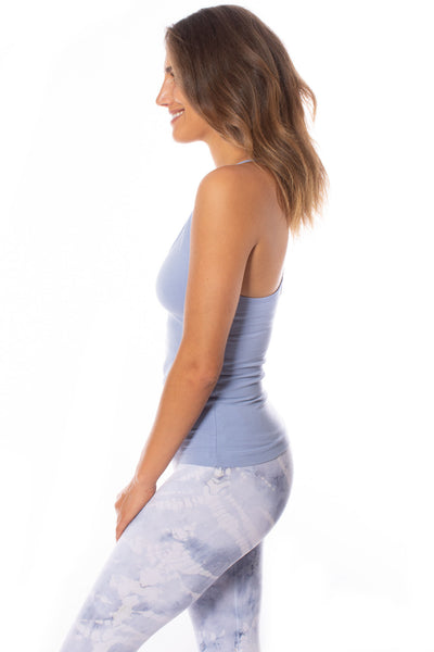 Hard Tail Forever - Freestyle Tank W/Bra (W-329, Light Blue) alt view 6
