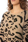 To The Loyal - Leopard Sweater Dress (tmk1171, Leopard) alt view 5