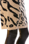 To The Loyal - Leopard Sweater Dress (tmk1171, Leopard) alt view 6