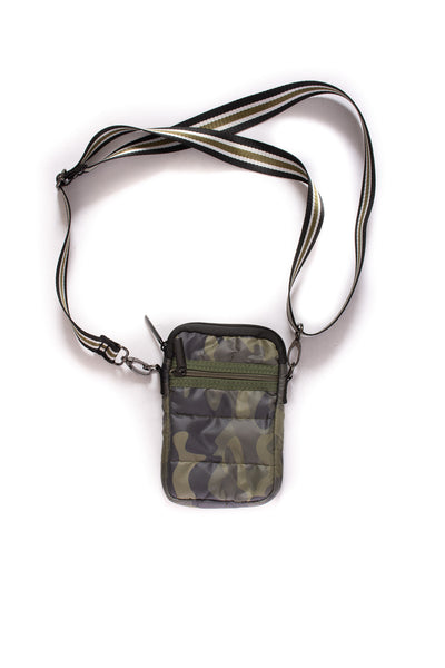 Haute Shore - Casey Sarg Neoprene Cell Phone Case (SARG, Green Camo w/Black, Cream, Green Stripe) alt view 1