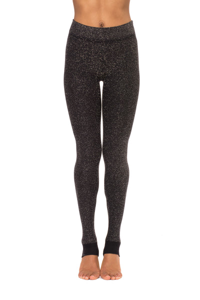 Jane Stirrup Pant - One Size Fits All (Style 1110, Caviar) by Phat Buddha alt view 3