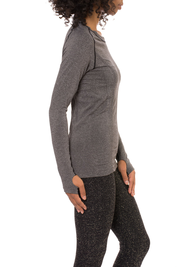 Yonkers Sweater - One Size Fits All (Style 2802, Caviar) by Phat Buddha