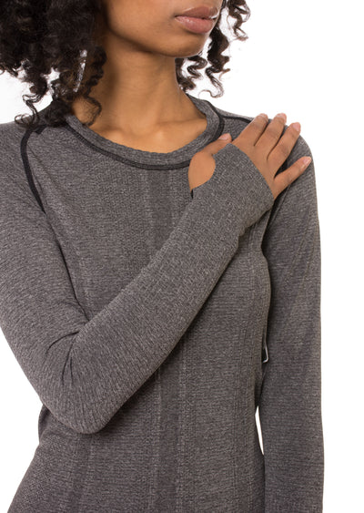 Yonkers Sweater - One Size Fits All (Style 2802, Caviar) by Phat Buddha alt view 3