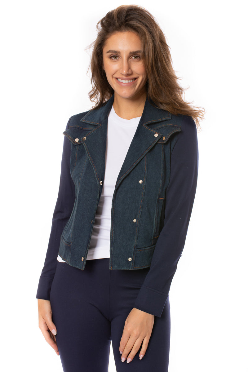 Lysse - Essential Denim Jacket (24-2733-M7, Indigo)