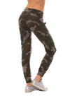 Hard Tail Forever - Double Pocket Drawstring Camo Jogger (HACH-05C, Thyme) alt view 3