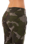 Hard Tail Forever - Double Pocket Drawstring Camo Jogger (HACH-05C, Thyme) alt view 4