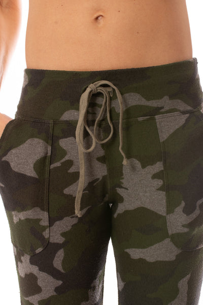 Hard Tail Forever - Double Pocket Drawstring Camo Jogger (HACH-05C, Thyme) alt view 5