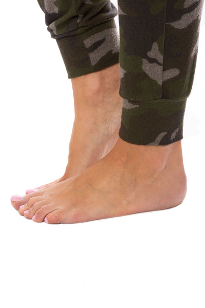 Hard Tail Forever - Double Pocket Drawstring Camo Jogger (HACH-05C, Thyme) alt view 6