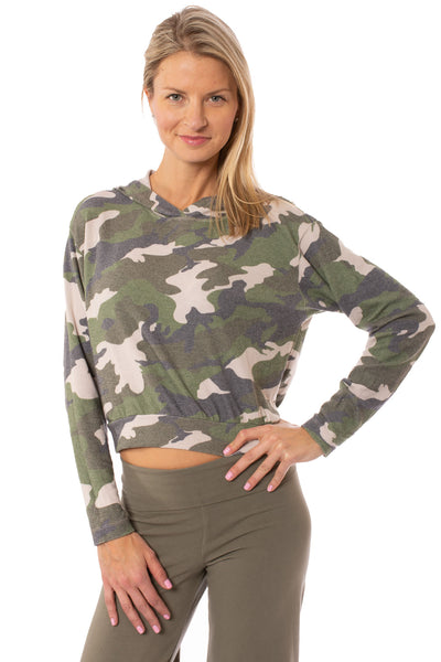 Hard Tail Forever - Camo Hoodie (HACH-02C, Rose Camo)