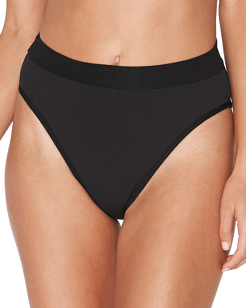LSpace Black Frenchi Bottom