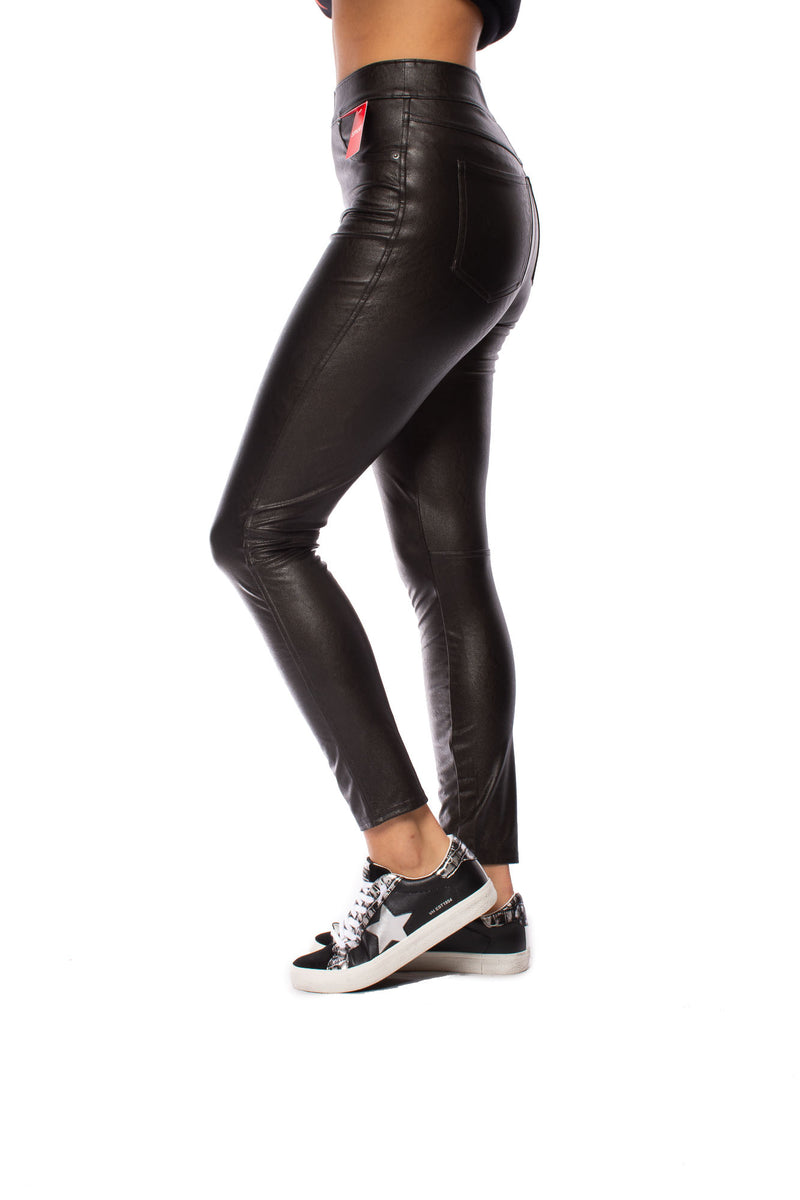 Spanx - Leather Like Skinny (20282R, Black Noir)