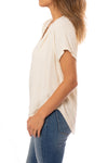 Bobi - Deep V Neck Raglan (579-33716, Natural) alt view 1