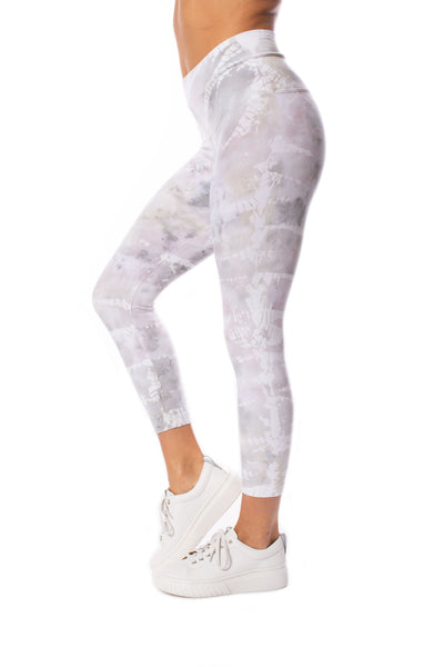 Hard Tail Forever - High Waist Capri Legging (W-614, Tie-Dye STW3)
