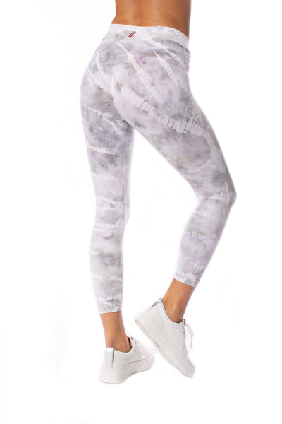Hard Tail Forever - High Waist Capri Legging (W-614, Tie-Dye STW3) alt view 1