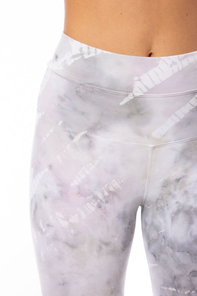 Hard Tail Forever - High Waist Capri Legging (W-614, Tie-Dye STW3) alt view 3