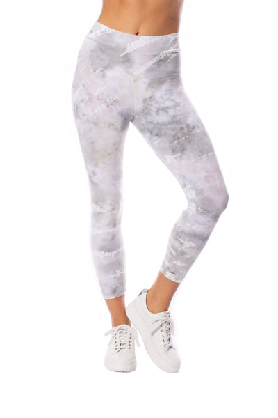 Hard Tail Forever - High Waist Capri Legging (W-614, Tie-Dye STW3) alt view 5