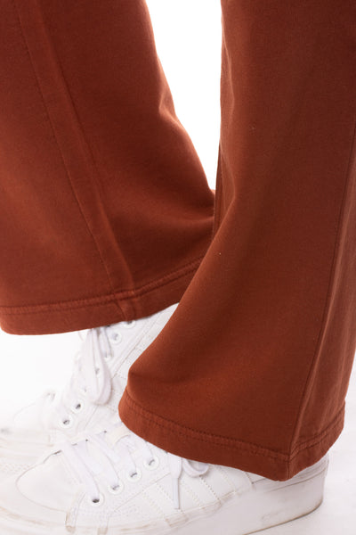 Wearables - Fleece Drawstring Two Pocket Sweats (22471w, Nutmeg) alt view 5