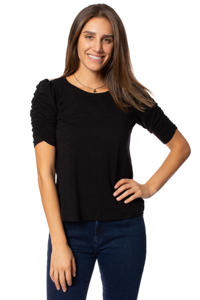 Sanctuary - Ruche Me Blouse (CT2996K60, Black) alt view 1