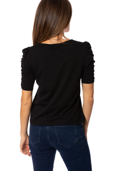 Sanctuary - Ruche Me Blouse (CT2996K60, Black) alt view 3