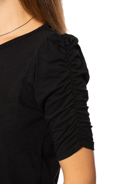 Sanctuary - Ruche Me Blouse (CT2996K60, Black) alt view 5