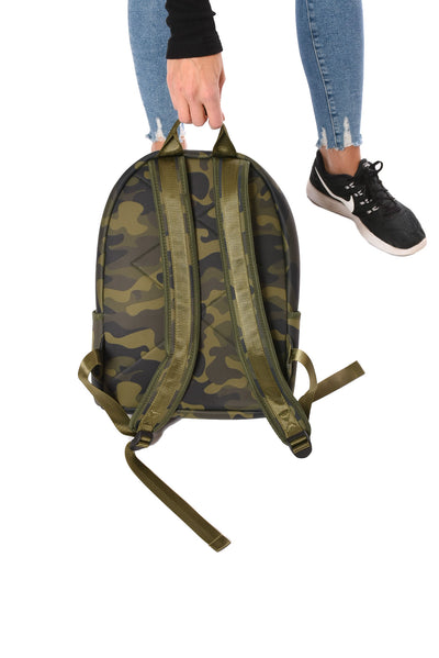 Haute Shore - Alex Backpack (alex, Green Camo w/Red & Black Sripe) alt view 2