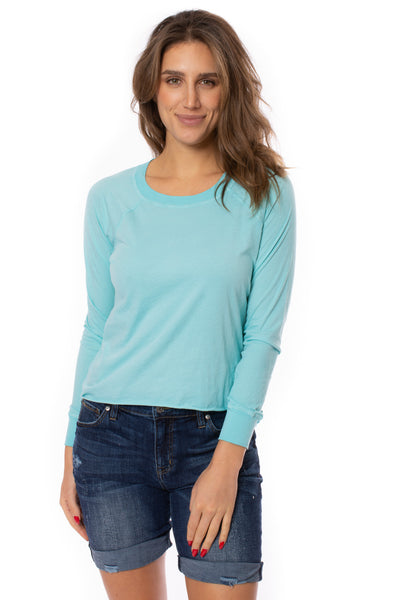 LA Made - York Tee (51273N, Light Turquoise) alt view 1