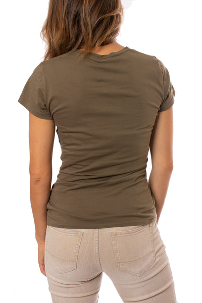 Bobi - Side Shired Surplice (53A-60043, Olive Green) alt view 2