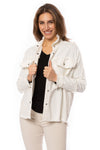 "Elan - One Size Fits All ""Rock & Roll"" Jacket (DE8121, White) alt view 1"