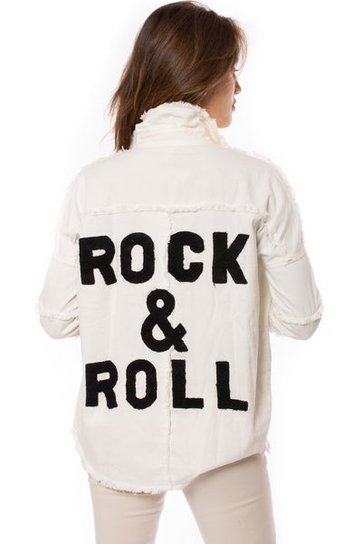 "Elan - One Size Fits All ""Rock & Roll"" Jacket (DE8121, White) alt view 3"